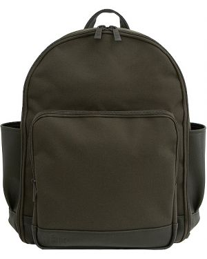 Zielony plecak skórzany Beis