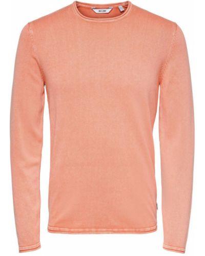 Pomarańczowy sweter Only & Sons