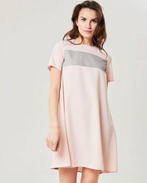 Платье розовое футболка Lavlan