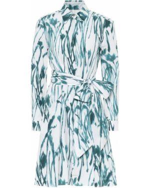 Летнее платье из поплина платье-майка Salvatore Ferragamo