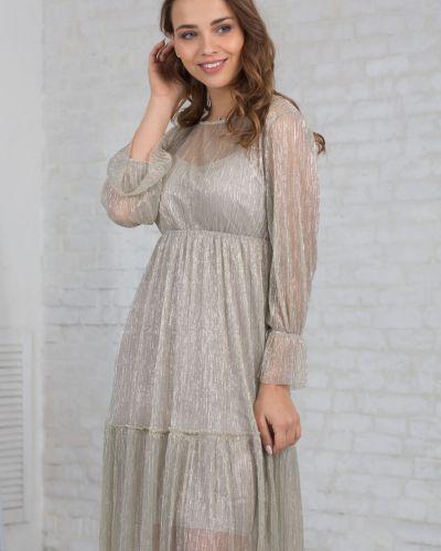 Платье с люрексом азалия