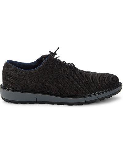 Кожаные кроссовки - черные Swims