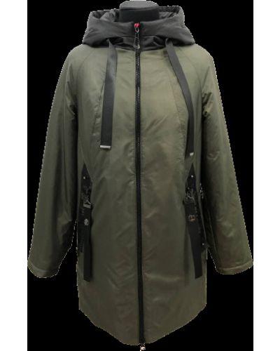 Куртка с капюшоном - черная Ulianna