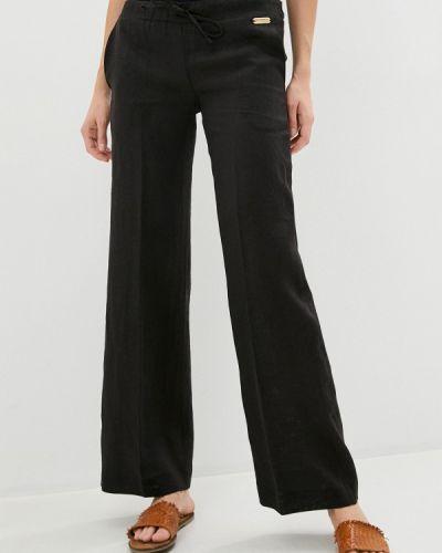 Повседневные черные брюки Trussardi Collection
