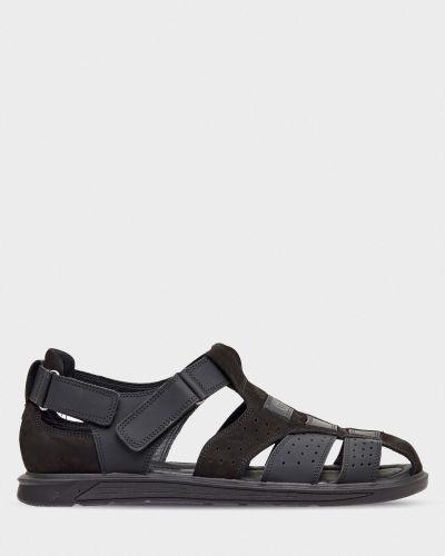 Повседневные открытые сандалии из нубука Stepter
