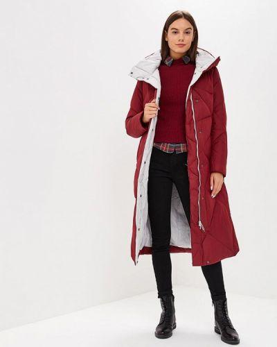 Зимняя куртка осенняя бордовый Snowimage