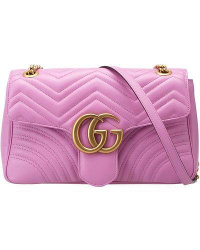 Кожаный сумка с логотипом Gucci