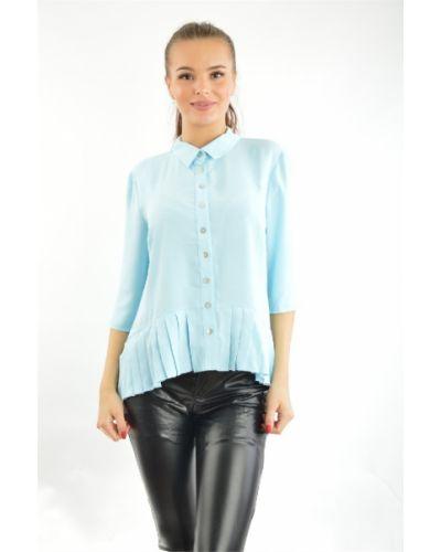 Голубая блузка летняя Vitacci