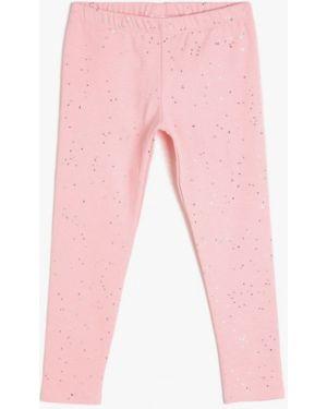 Розовые брюки Koton