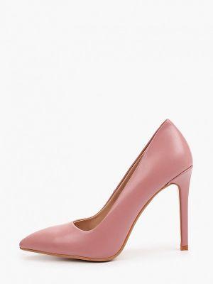 Кожаные лодочки - розовые Diora.rim