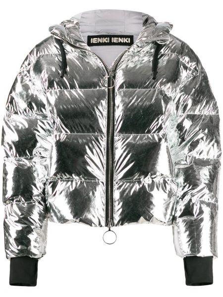 Куртка с капюшоном длинная оверсайз Ienki Ienki