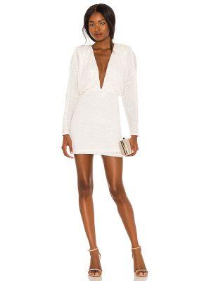 Белое платье с подкладкой Nookie