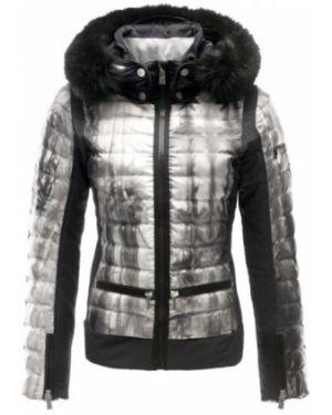 Нейлоновая куртка с капюшоном мембранная мятная с манжетами Toni Sailer