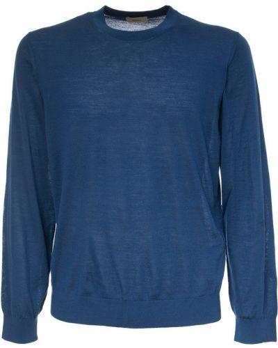 Niebieska bluza dresowa Ermenegildo Zegna