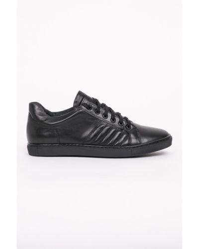 Кожаные туфли на шнуровке Domeno
