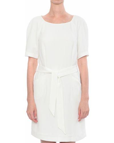 Платье из полиэстера - белое Armani Jeans