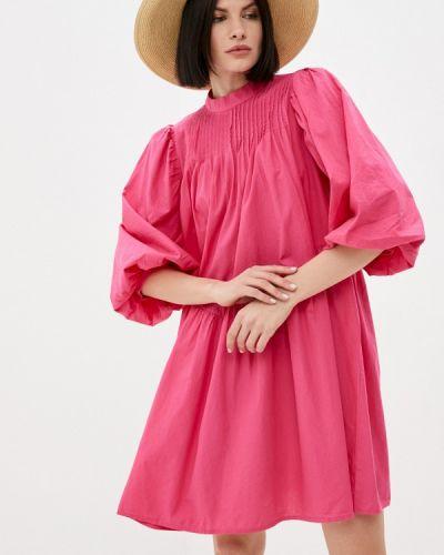 Прямое платье - розовое Y.a.s