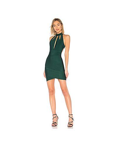 Платье с вырезом зеленый By The Way.