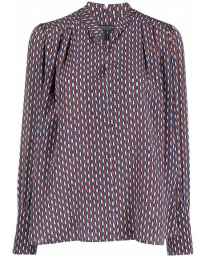 Koszula z jedwabiu - niebieska Rag & Bone
