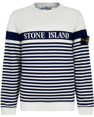 Свитшот с логотипом Stone Island Children
