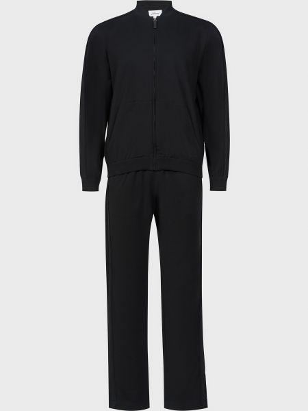 Спортивный костюм на молнии - черный Brioni