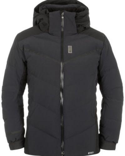 Куртка с капюшоном утепленная черная Salomon