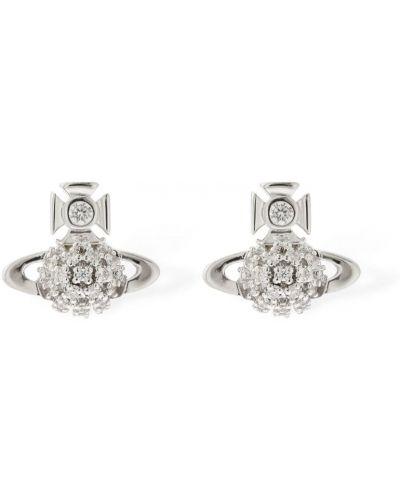 Серьги - серебряные Vivienne Westwood
