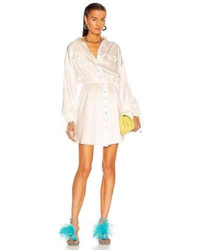 Кружевное платье - белое Retrofete