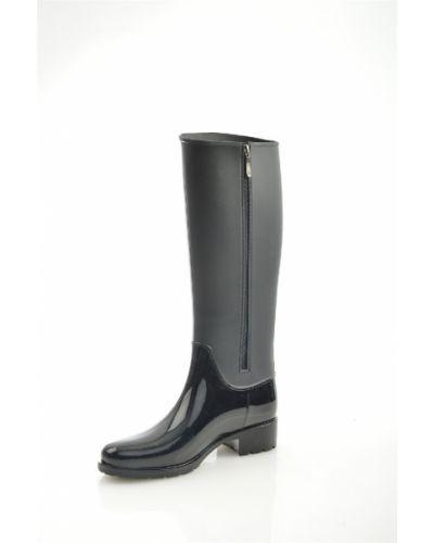 Ботинки на каблуке черные на каблуке Dino Ricci Trend