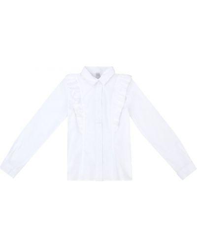 Блуза на пуговицах классическая School By Playtoday