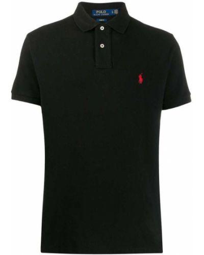 T-shirt bawełniana - czarna Polo Ralph Lauren