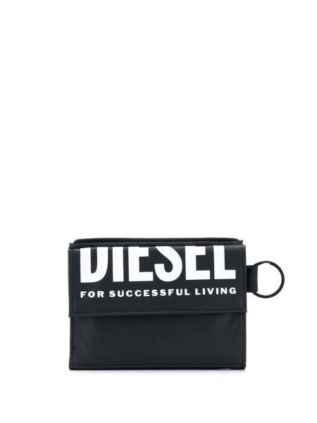 Biały portfel na monety z gniazdem z kieszeniami Diesel
