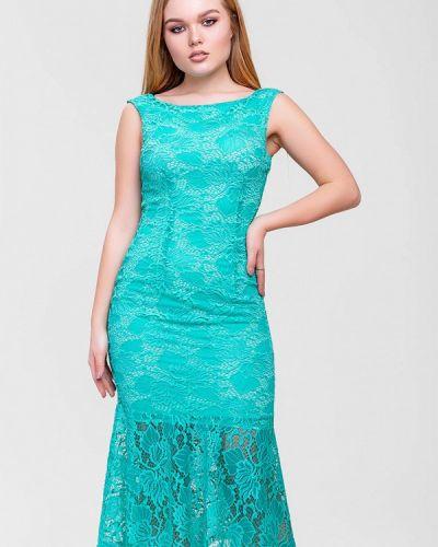 Бирюзовое вечернее платье Sfn