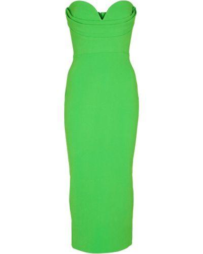 Zielona sukienka midi Alex Perry