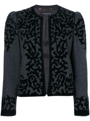 Удлиненный пиджак винтажный Louis Feraud Pre-owned
