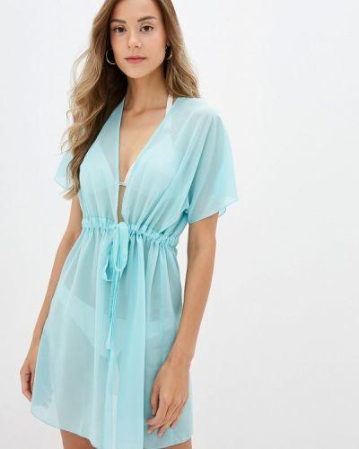 Пляжное платье бирюзовый Donatello Viorano