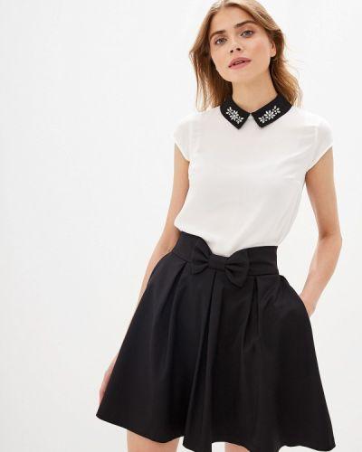 Блузка с коротким рукавом белая Love Republic