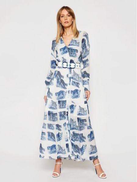 Niebieska sukienka Silvian Heach