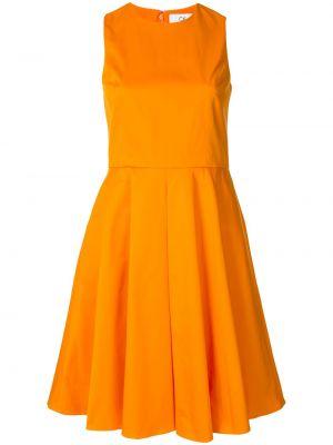 Платье трапеция - оранжевое Ck Calvin Klein