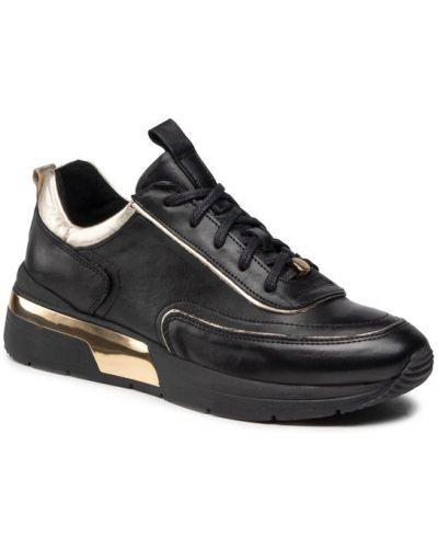 Czarne sneakersy Eva Longoria