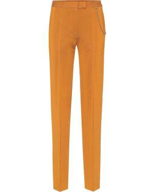Spodnie elastyczne prosto Givenchy