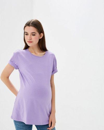 Фиолетовая футболка фэст