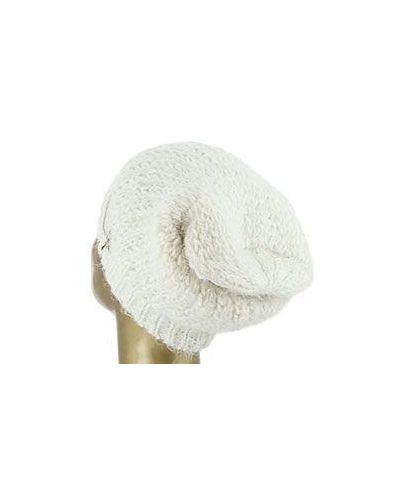 Белая шапка шерстяная Patrizia Pepe