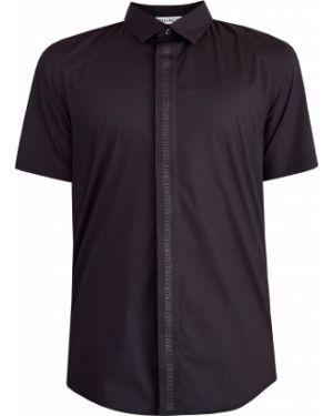 Рубашка с короткими рукавами стрейч приталенная Bikkembergs