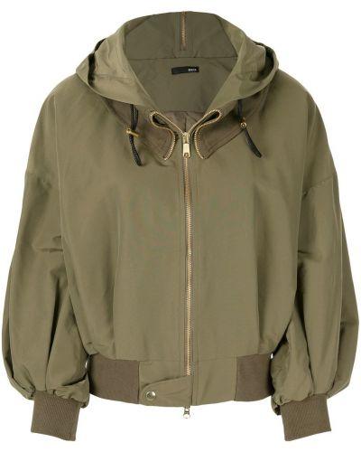 Армейская куртка с капюшоном мятная с манжетами Frei Ea
