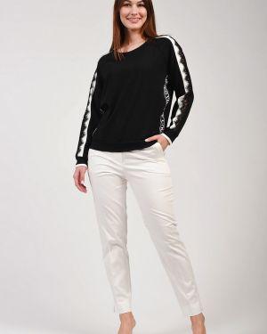Хлопковые белые брюки Lebek