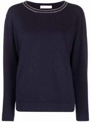 Синий шерстяной свитер Fabiana Filippi