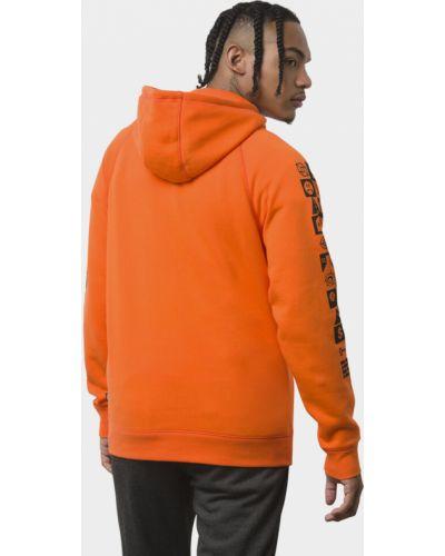 Оранжевый свитер Vans