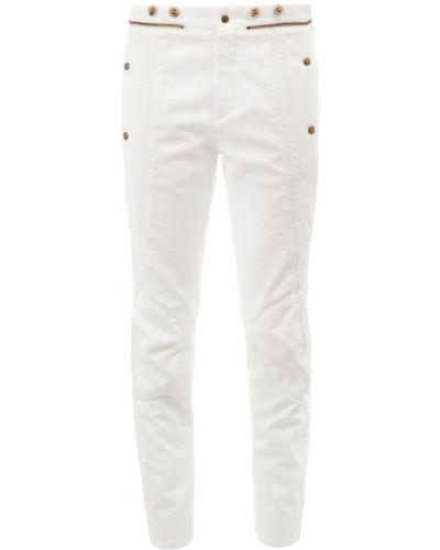Прямые джинсы с манжетами на пуговицах Chloé