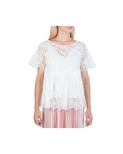 Блузка кружевная с баской P.a.r.o.s.h.